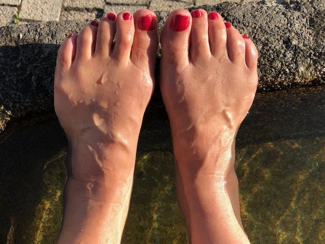 Histoire de mains et de pieds